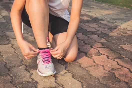 exercise female fitness foot